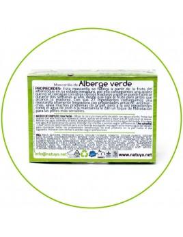 Jabón artesanal NATUYO de Alberge verde