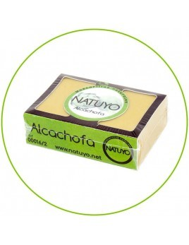 Mascarilla de jabón NATUYO de Alcachofa