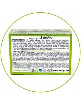 Mascarilla de jabón NATUYO de Limón