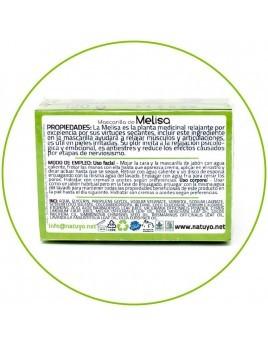 Mascarilla de jabón NATUYO de Melisa
