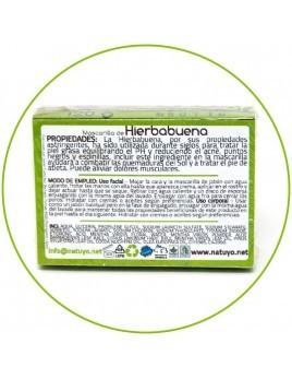 Mascarilla de jabón NATUYO de Hierbabuena