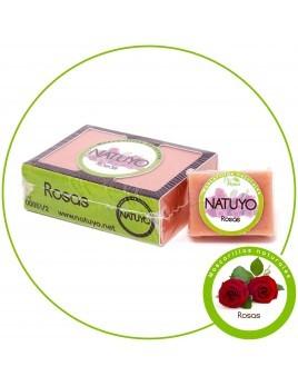 Mascarilla de jabón NATUYO de Rosas