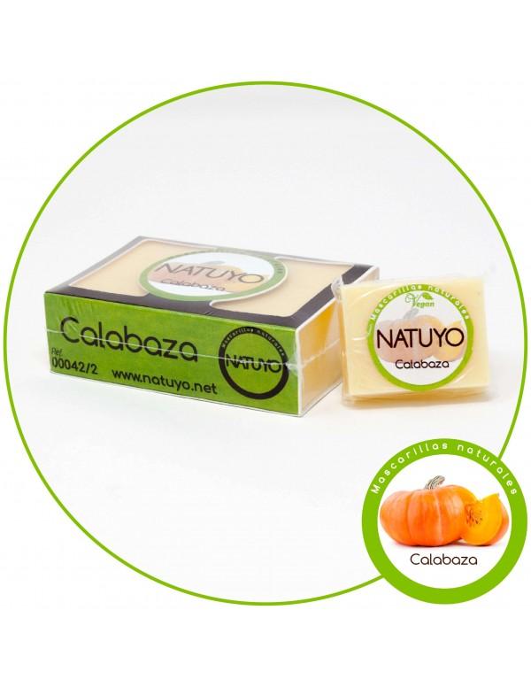Mascarilla de jabón NATUYO de Calabaza