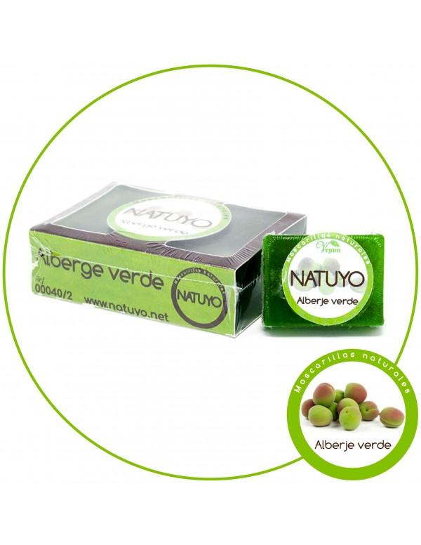 Mascarilla de jabón NATUYO de Alberge verde