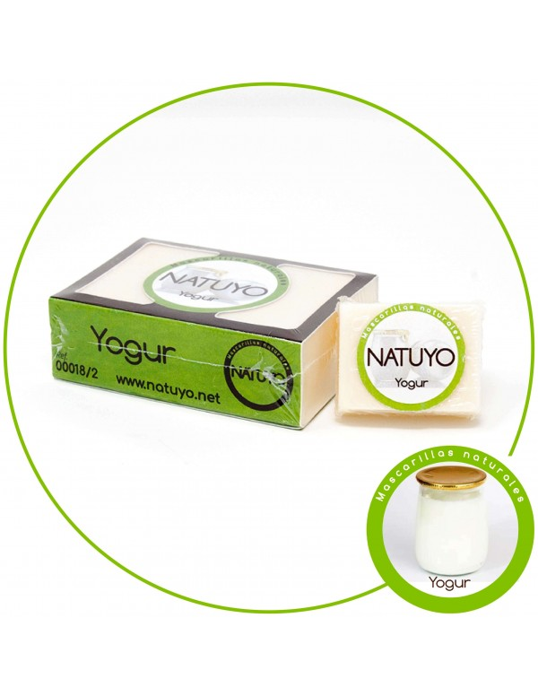 Mascarilla de jabón NATUYO de Yogur