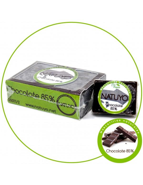 Mascarilla de jabón NATUYO de Chocolate al 85% de cacao
