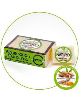 Mascarilla de jabón NATUYO de Almendra y Cúrcuma