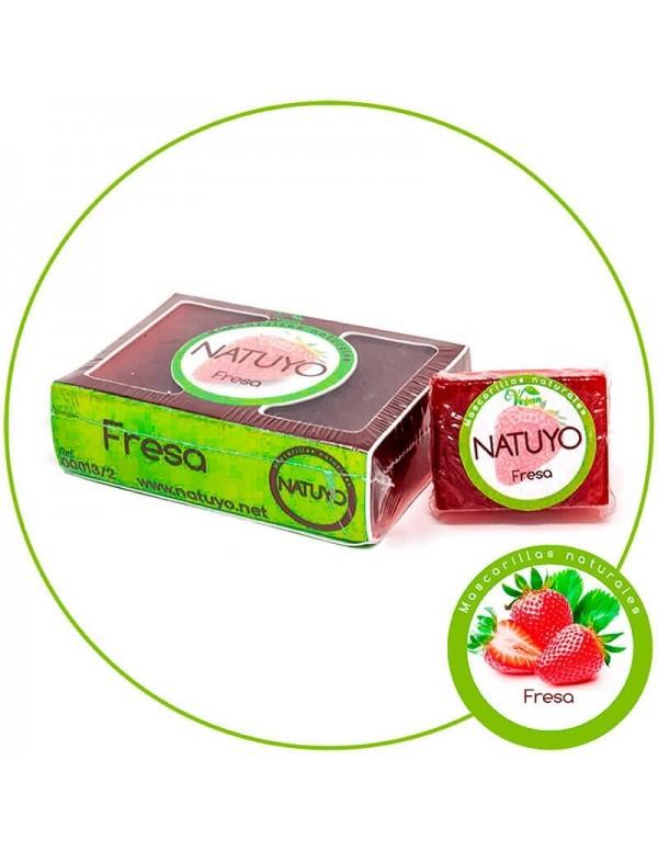 Mascarilla de jabón NATUYO de Fresa