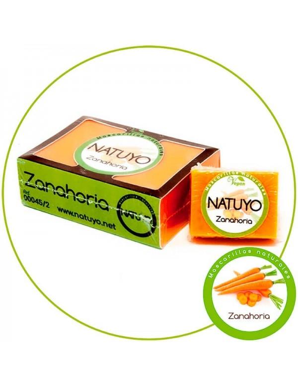 Mascarilla de jabón NATUYO de Zanahoria