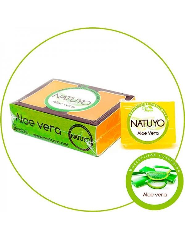 Mascarilla de jabón NATUYO de Aloe Vera