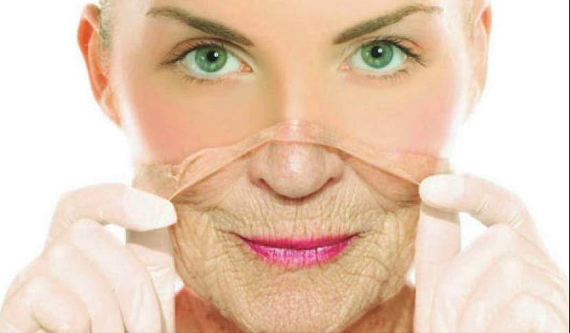 Anti-arrugas. Arrugas en la piel, anis estrellado. colágeno, elastina