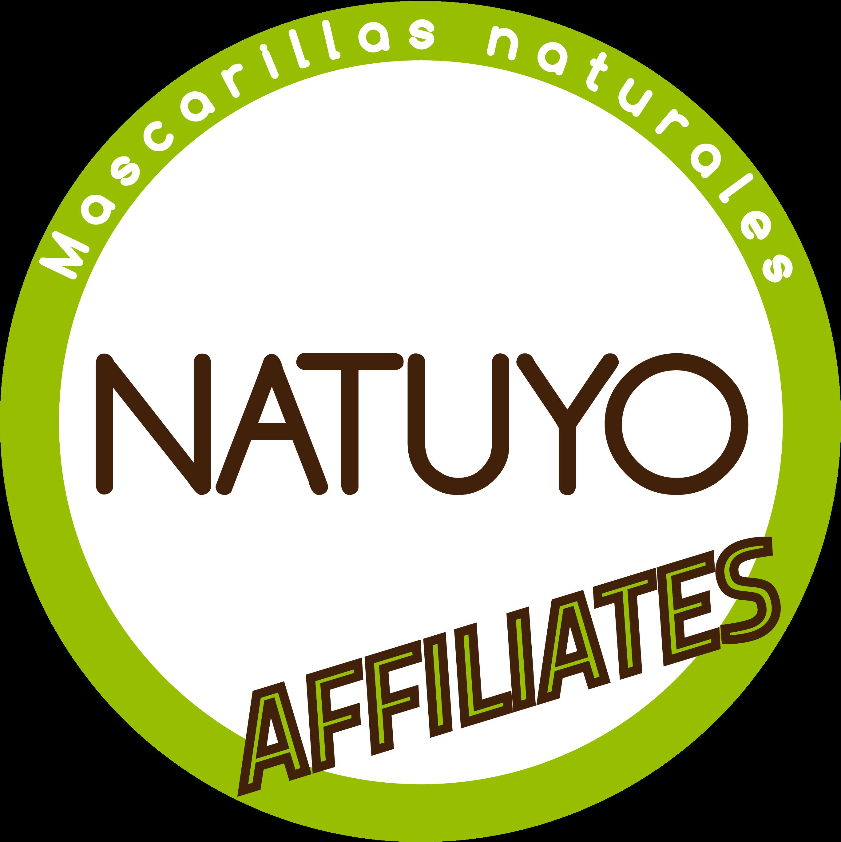 Logo del programa de afiliados de mascarillas NATUYO
